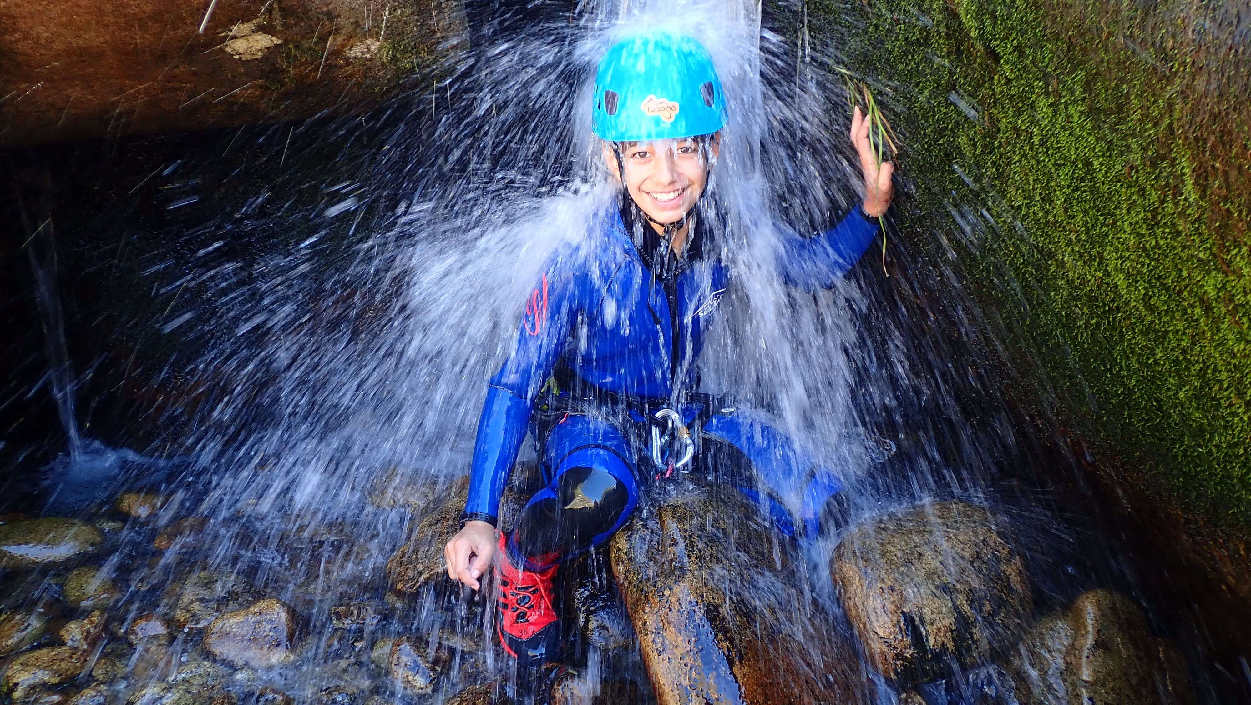 Canyoning With Children